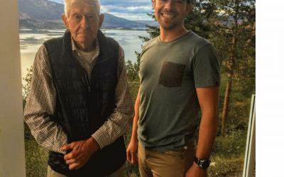 Okanagan High Rim Trail Co-Founder Arnold Trewhitt