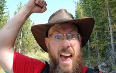 How you feel when completing the High Rim Trail.